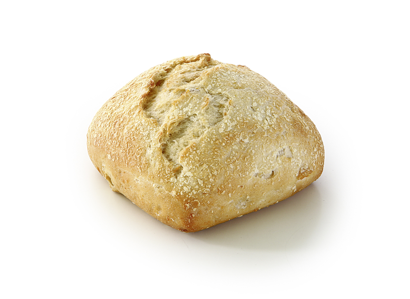 Sweet Potato Roll - Wheat roll with 6.5 % sweet potato cubes and potato flakes / suitable for vegetarians and vegans