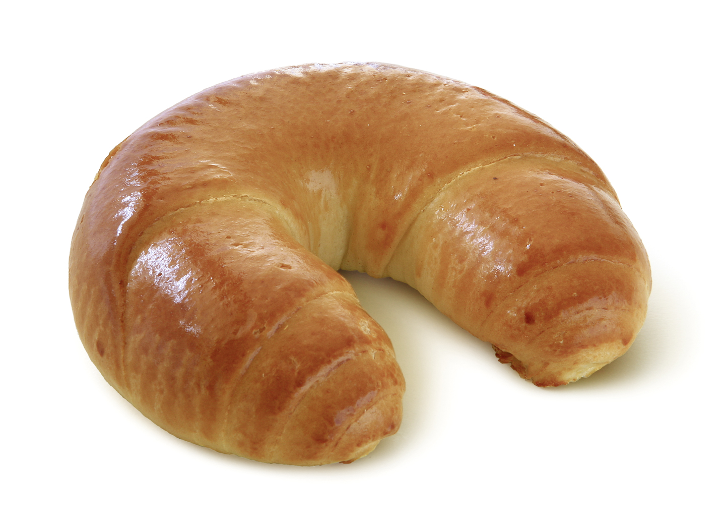 Milk Croissant - With wholemilk, curd cheese and butter in typical wrapped shape. Thaw only.