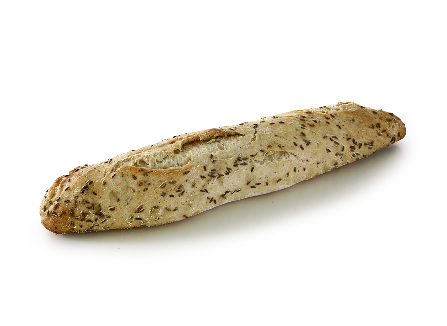 Baguette Swabian Style - Small wheat product with 0.3% caraway and natural sourdough