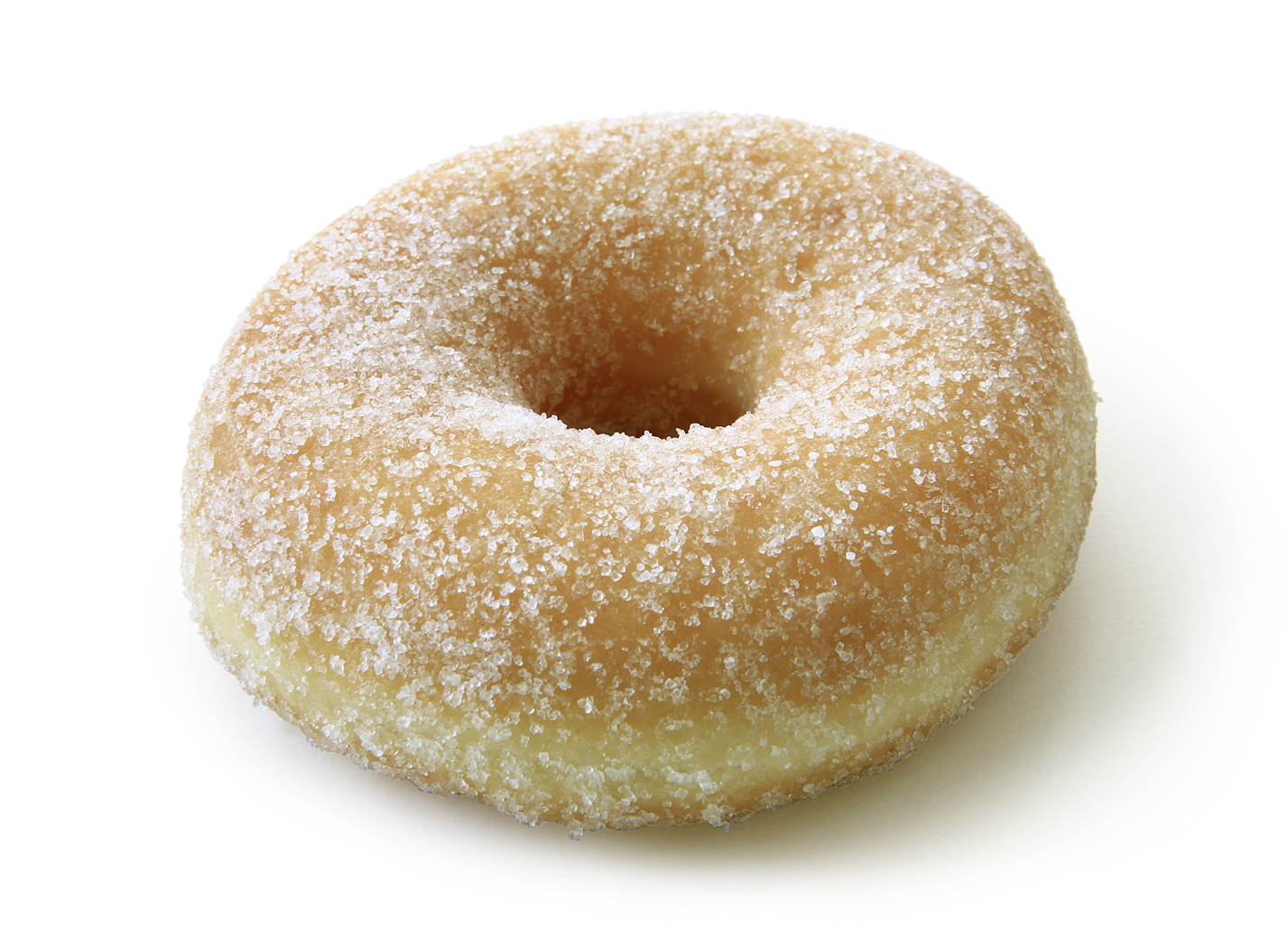 Sugared Donut - Fried yeast dough sprinkled with 10% sugar/ thaw only/ diameter: 9cm