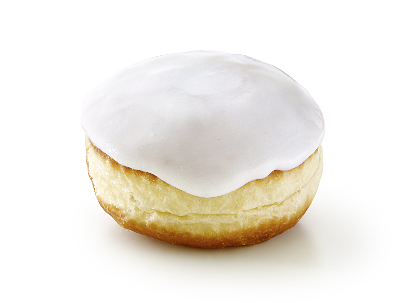 Jelly Doughnut, Multifruit with Fondant - Pastry coated with fudge in big size/ thaw only/ diameter: 8.5 cm