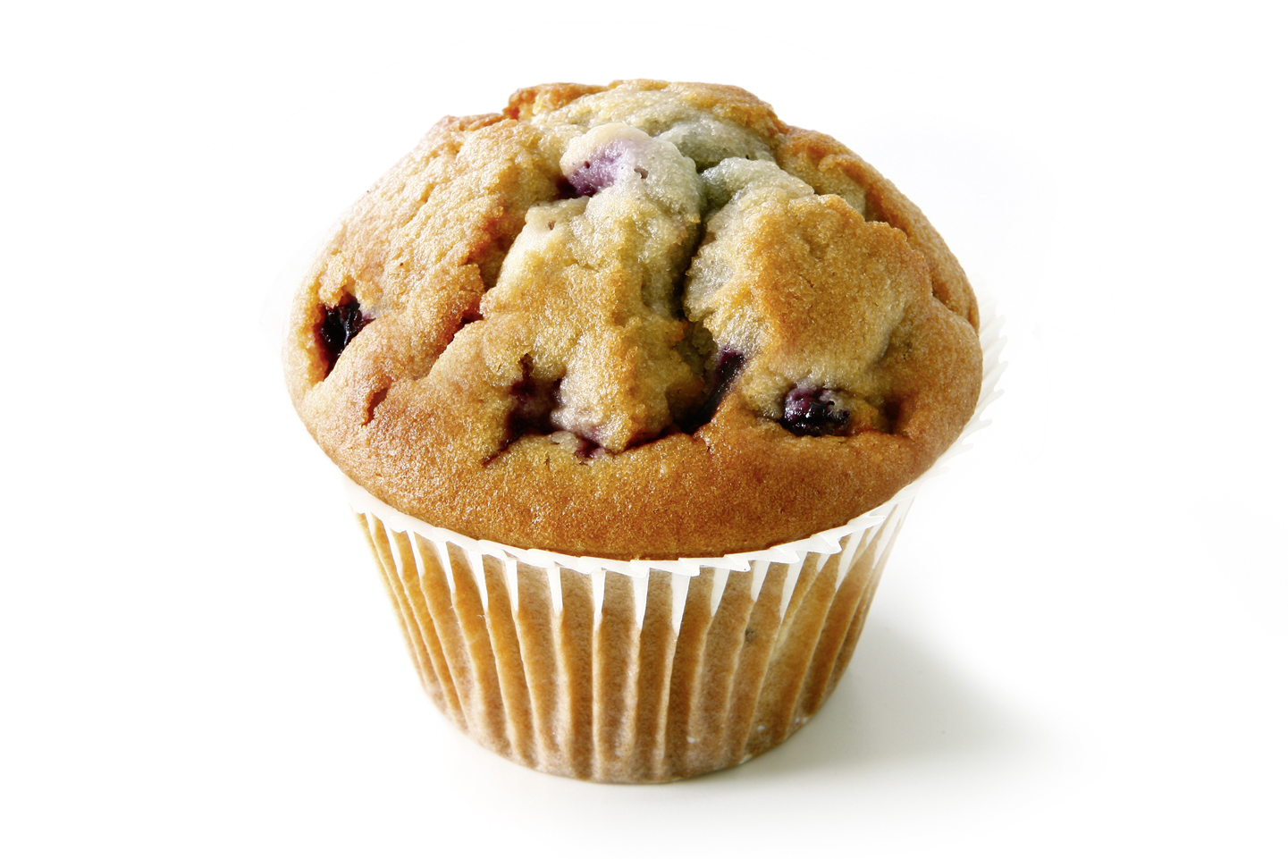 Muffin Blueberry - Small batter cake with 10% wild blueberries/ thaw only