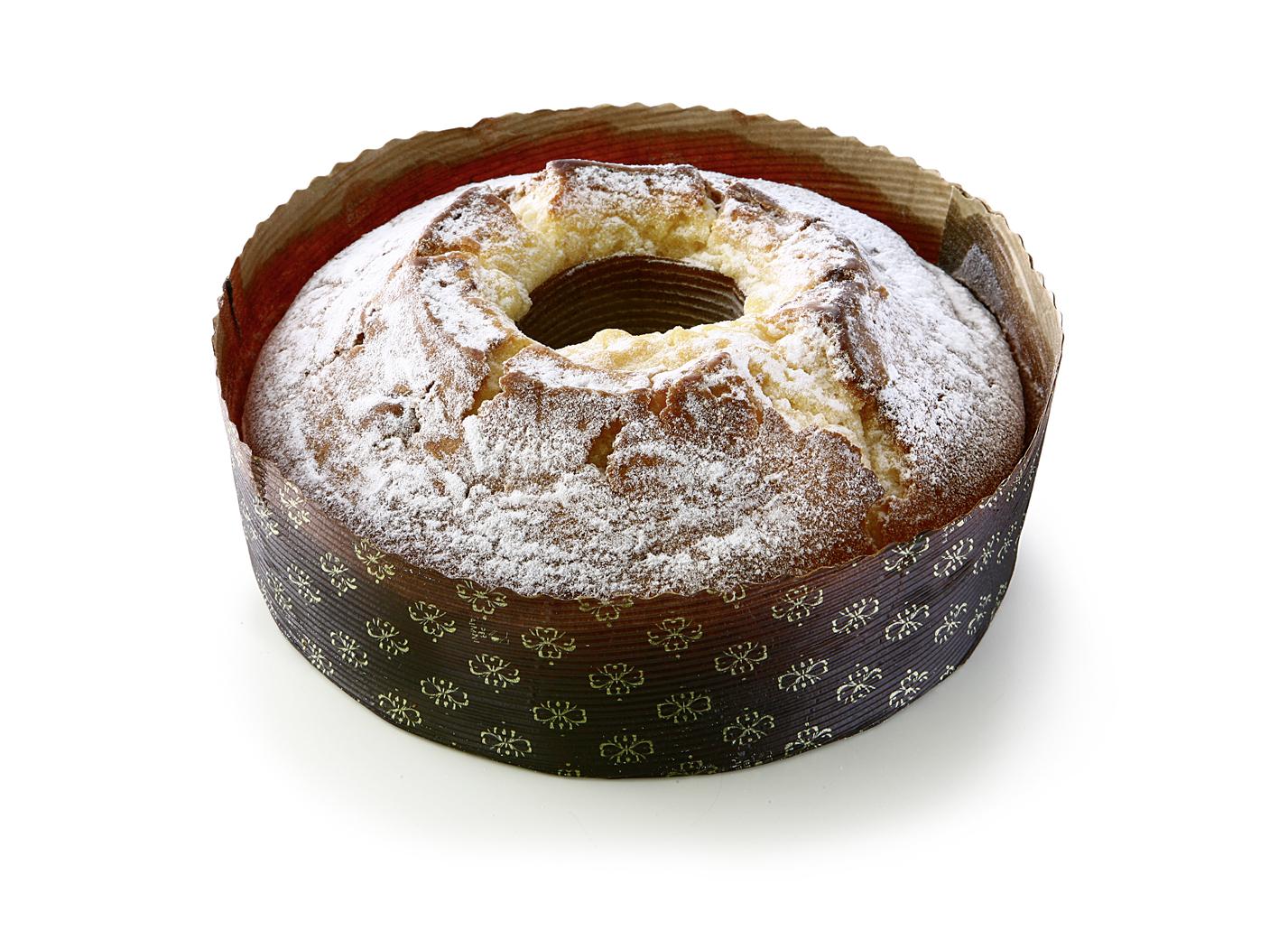 Marble Cake - Light and dark pound cake. Diameter: 20cm