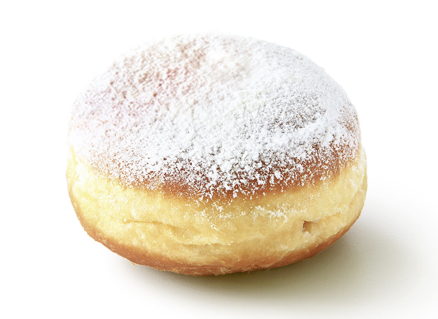 Jelly Dougnut, Multifruits, powdered - Pastry filled with multi fruit/ sprinkled with powdered sugar/ thaw only/ diameter: 9 cm