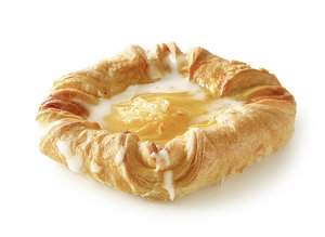 Vanilla Pastry - Pastry in a square shape with 27% pudding with vanilla flavour/ thaw only/ measures: 12 x 12 cm