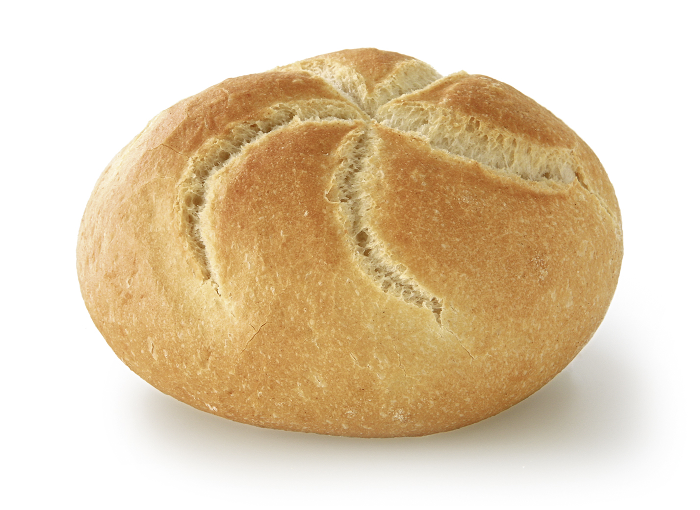 Kaiser Roll - Small wheat bakery round/ with typical look