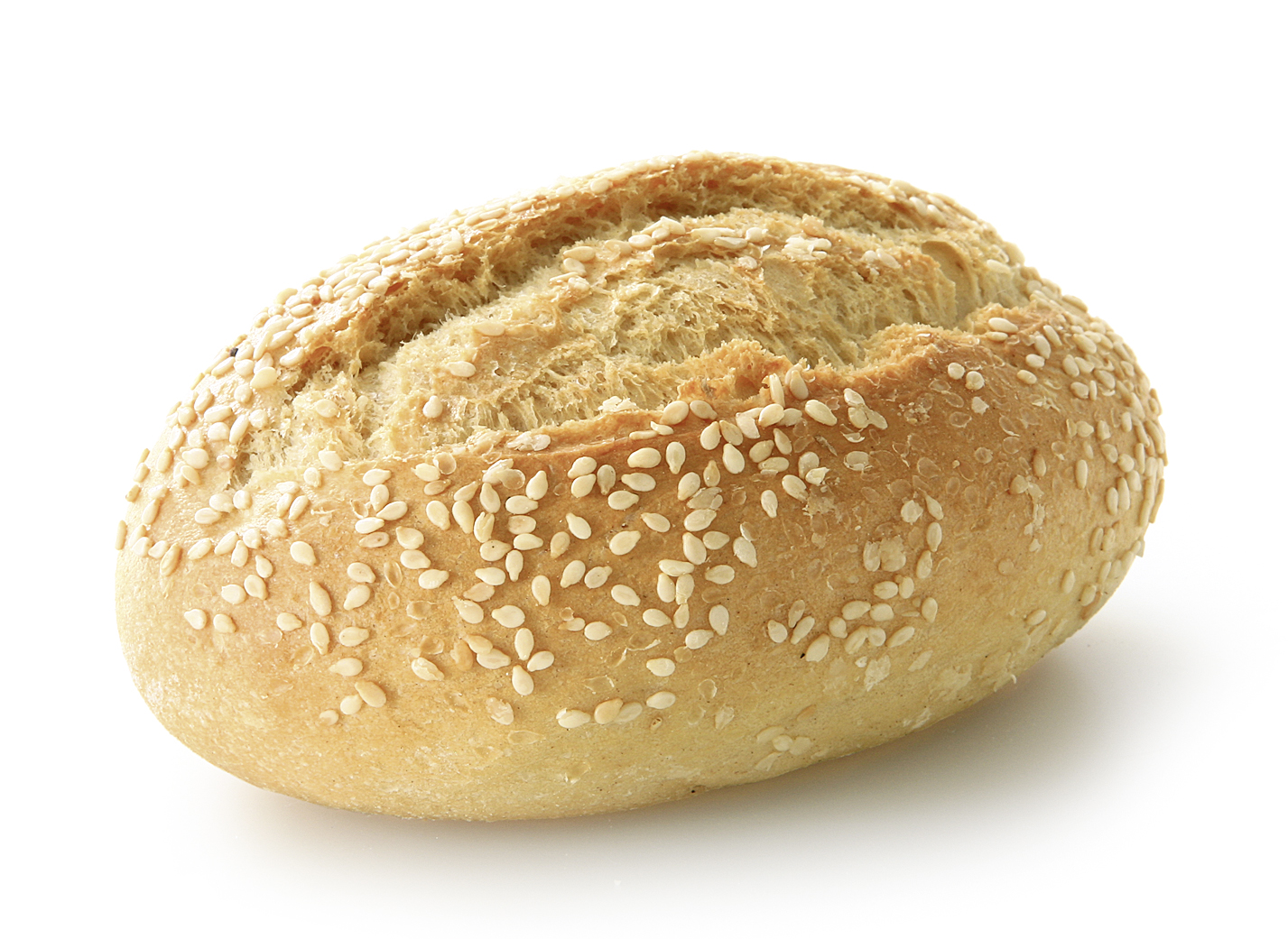 Sesame Seed Roll - Small wheat bakery oval/ sprinkled with sesame seeds