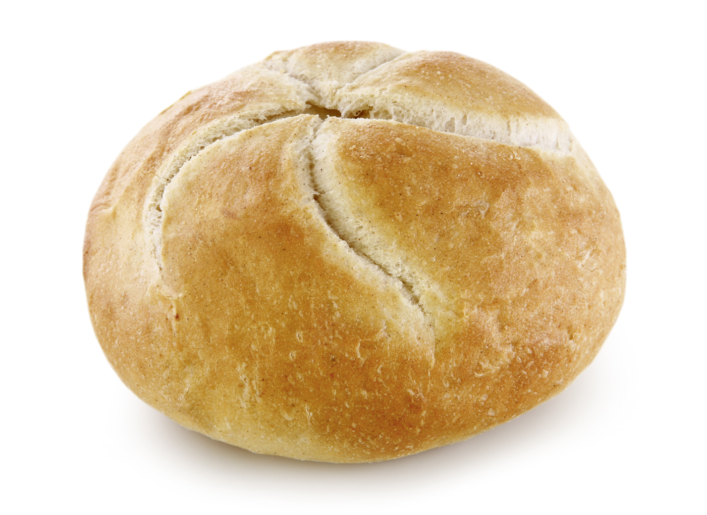 Kaiser Roll - Wheat roll round/ with typical look