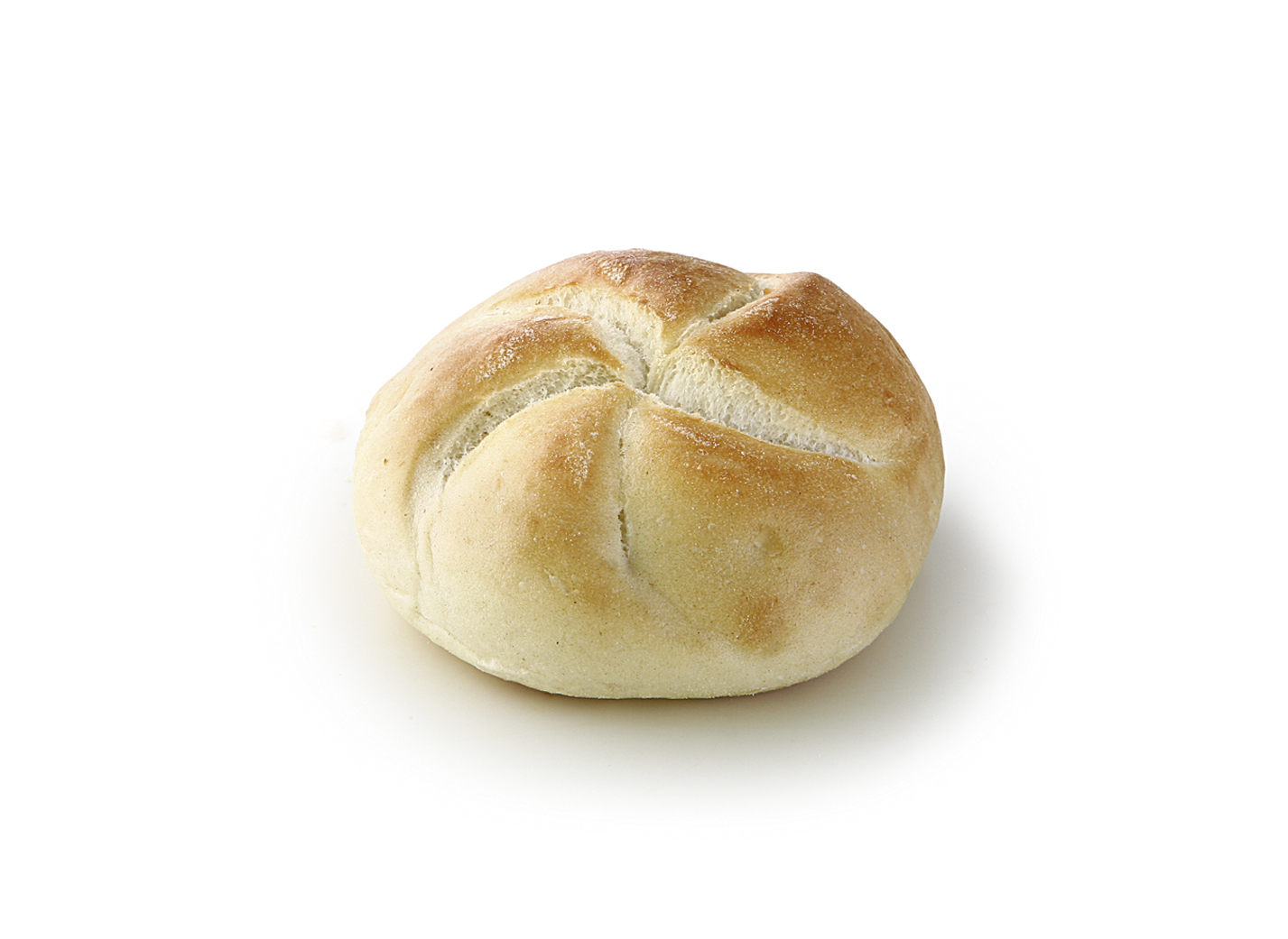 Mini Kaiser Roll nature - Mini wheat roll with stamp for defrost/ diameter: approx. 8 cm