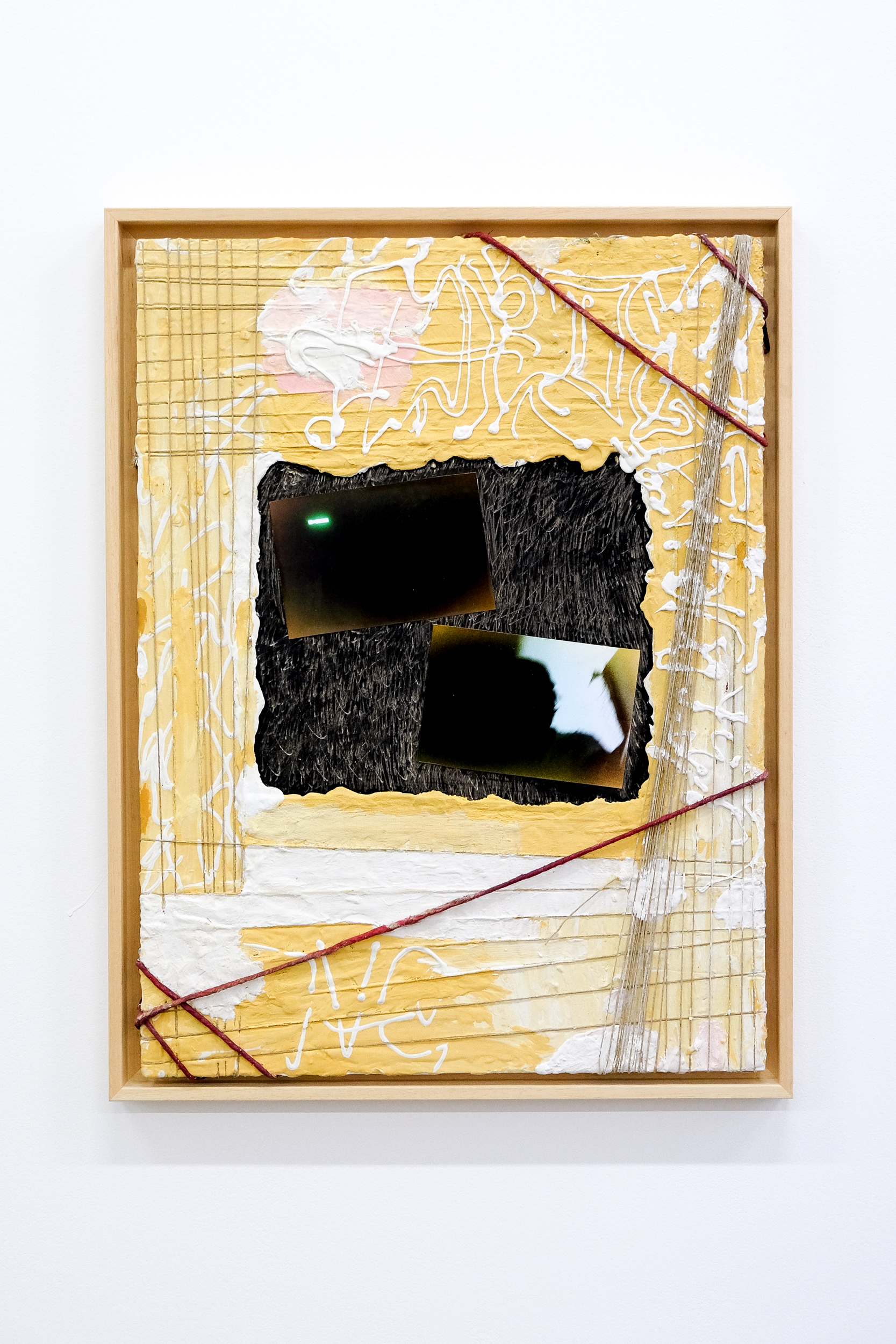 """5 - 18"""" x 24"""" works on panel, made from a collection of photographs taken by my cousin Buff with a disposable camera in 2013/2014.  Buff ojos #3"""