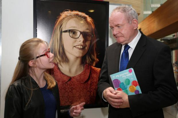 Molly chats to Martin McGuinness about her experience of taking part in My Journey My Voice.