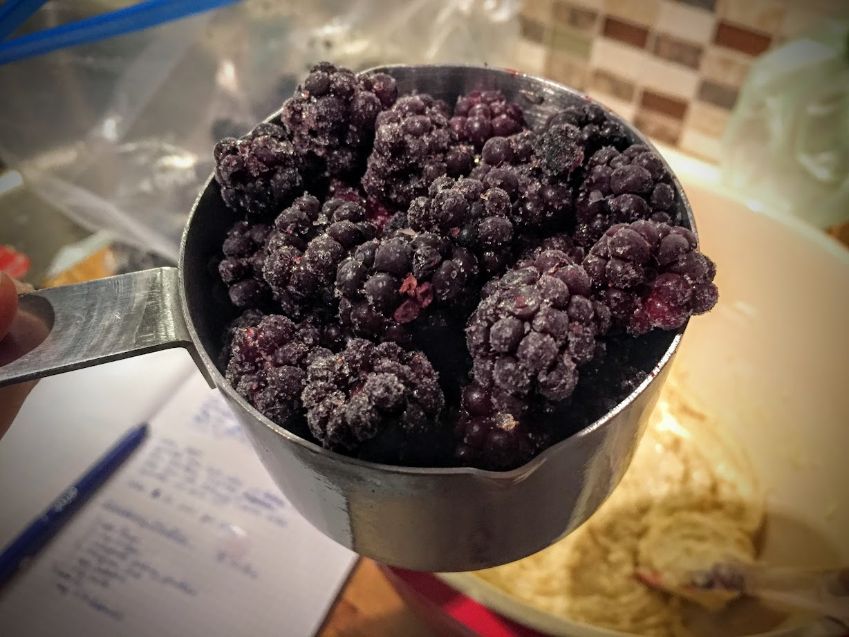If frozen individually, the berries are easy to measure and scoop. If you instead put them all into a bag and toss them in the freezer, they will all freeze together in an impossible giant chunk that will be useless to you.
