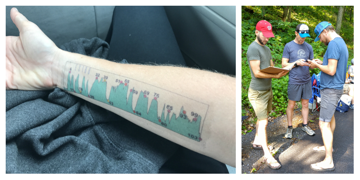 My insanely useful tattoo, and my crew sharing tips from my crew manual.