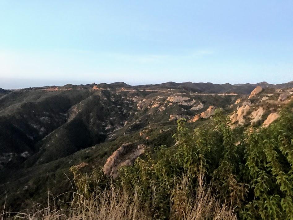 Miles of ridgeline trail ahead