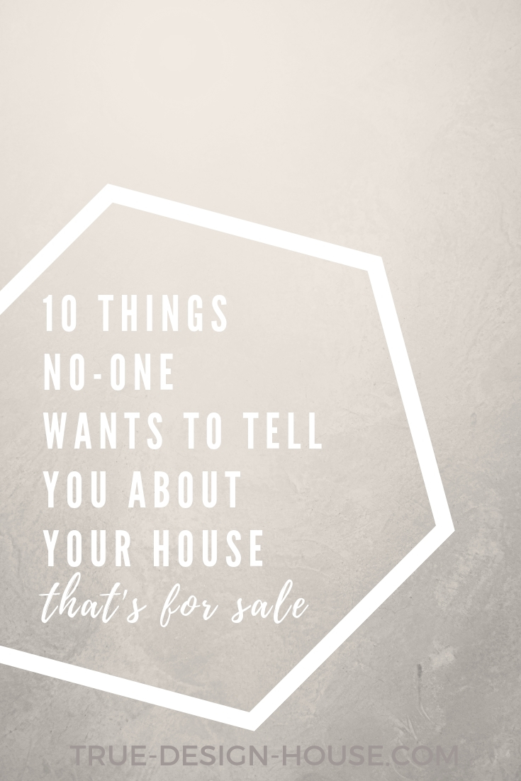 true design house - 10 things no one wants to tell you about your house when it's for sale - 48 - pinterest - 3