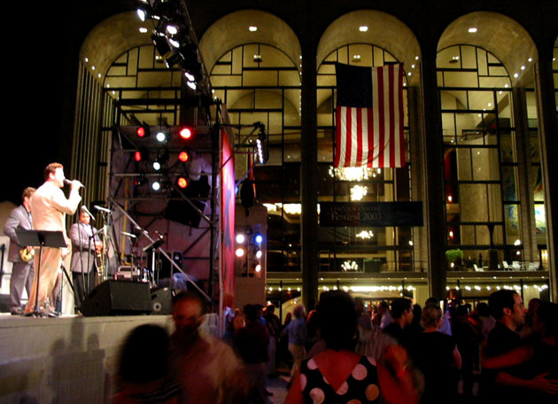 Ron and his band performing at Lincoln Center, NYC