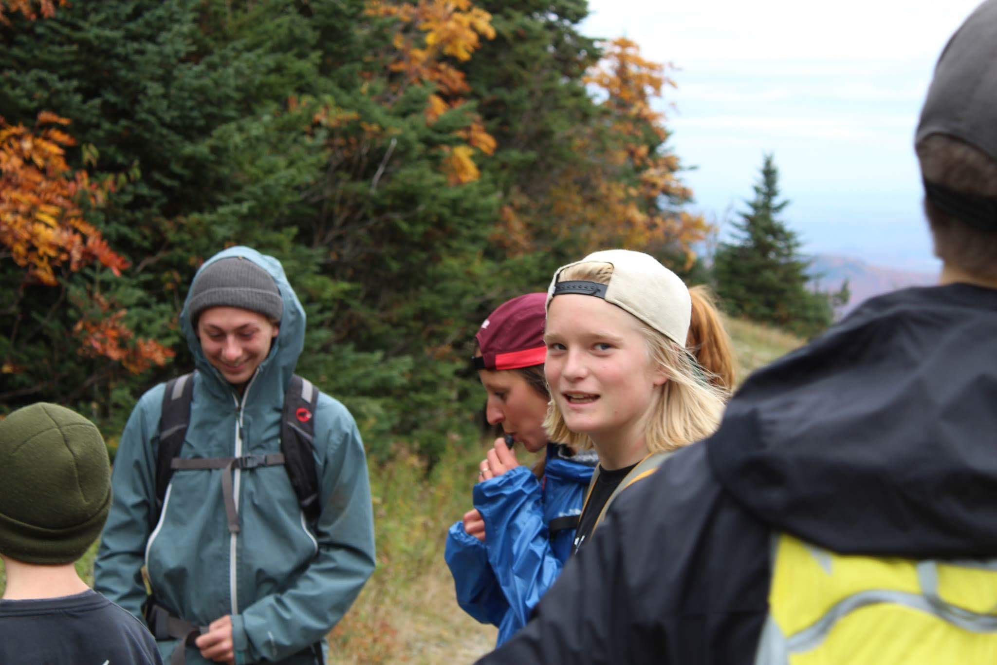 1er training de hiking!
