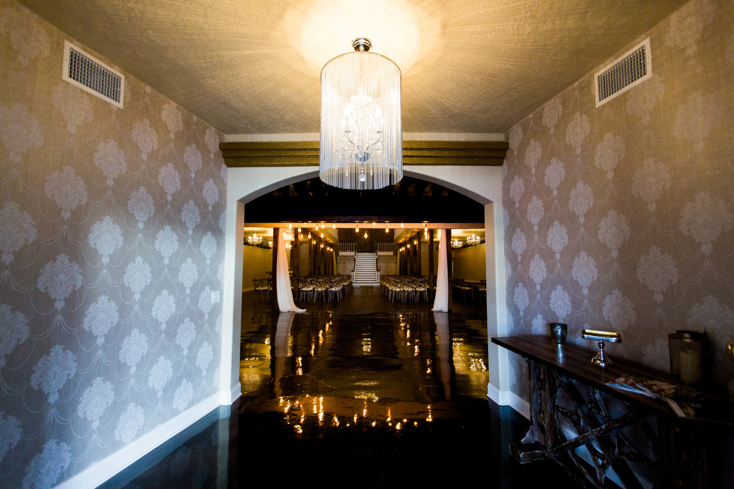The Grand Canadian Theater OKC Purcell Wedding Venue Ashley Porton Photography
