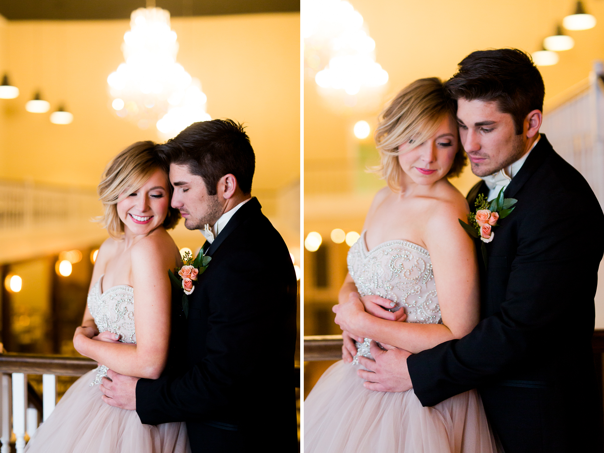 The Grand Canadian Theater OKC Purcell Wedding Venue Ashley Porton Photography chandelier.jpg