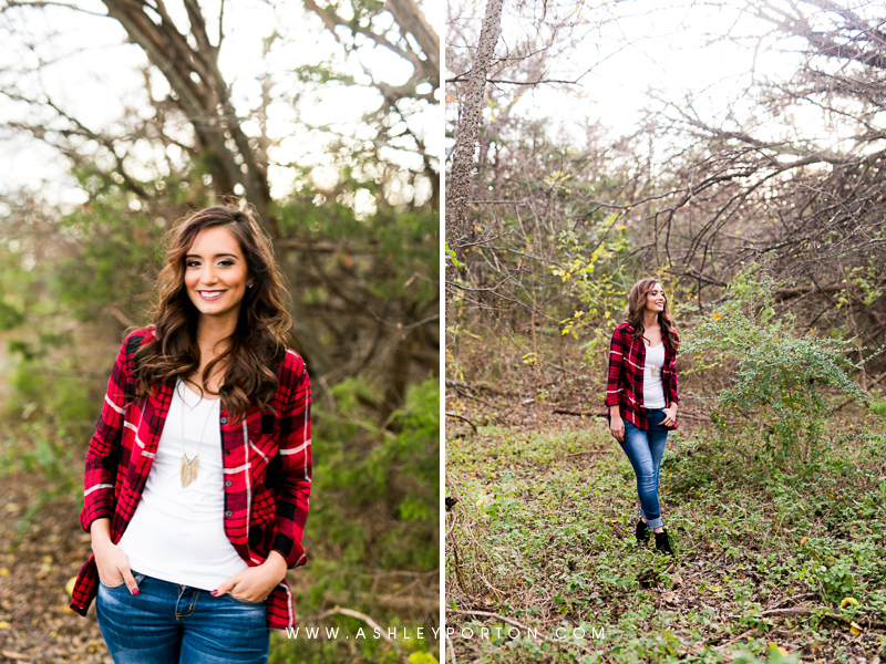 Oklahoma Senior Photographer Sutton Wilderness Fall Plaid Best Senior Portrait Photographer