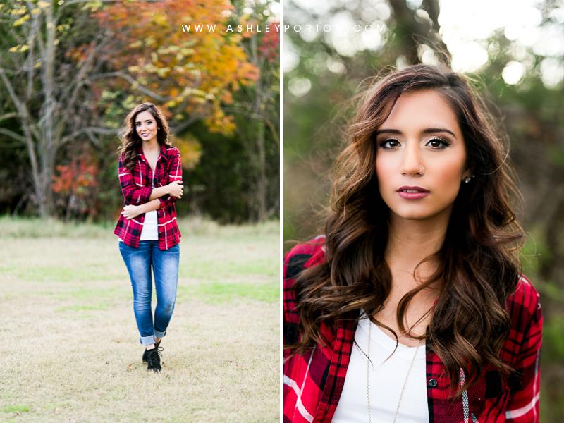 Oklahoma Senior Photographer Sutton Wilderness Fall Plaid Best Senior Portrait Photographer