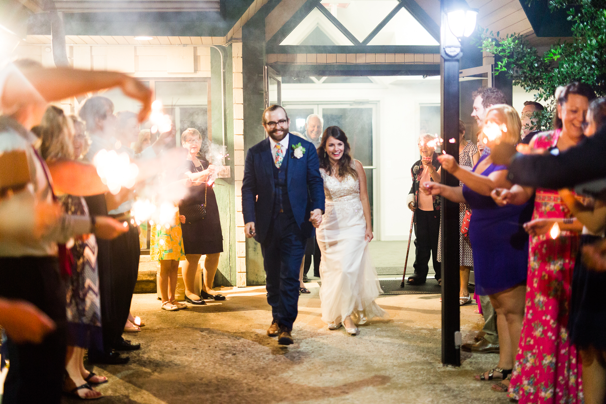 eureka springs wedding photographer thorncrown chapel fireworks exit