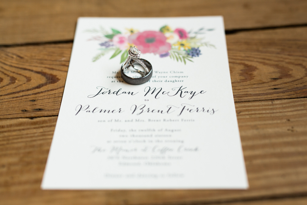 oklahoma wedding photographer norman wedding photographer the manor at coffee creek wedding invitation suite rings