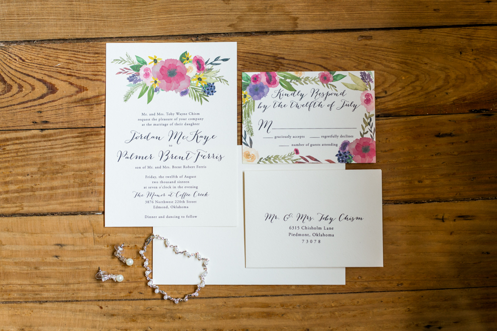 oklahoma wedding photographer norman wedding photographer the manor at coffee creek wedding invitation suite
