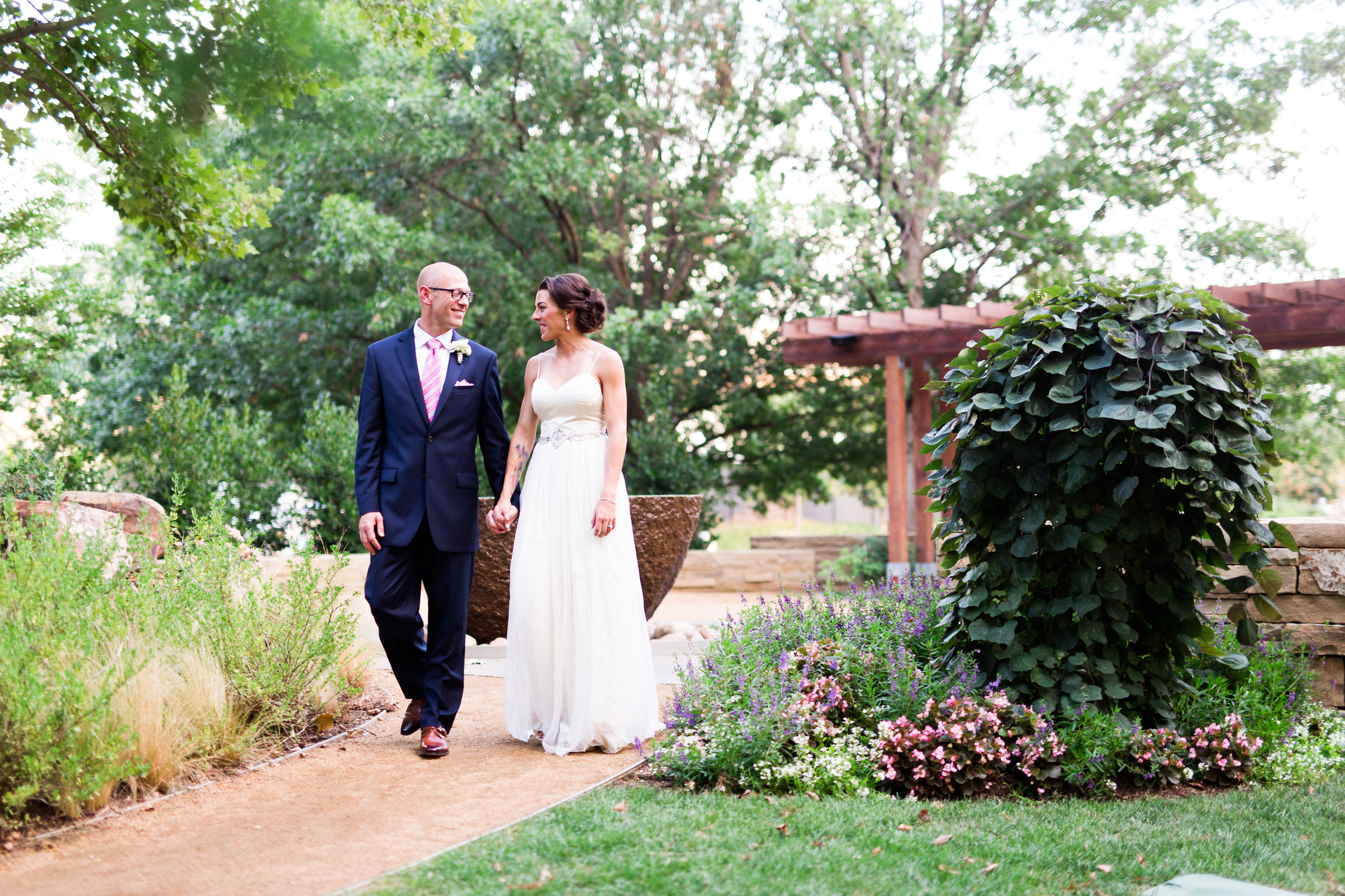 myriad botanical gardens wedding photographer okc oklahoma norman