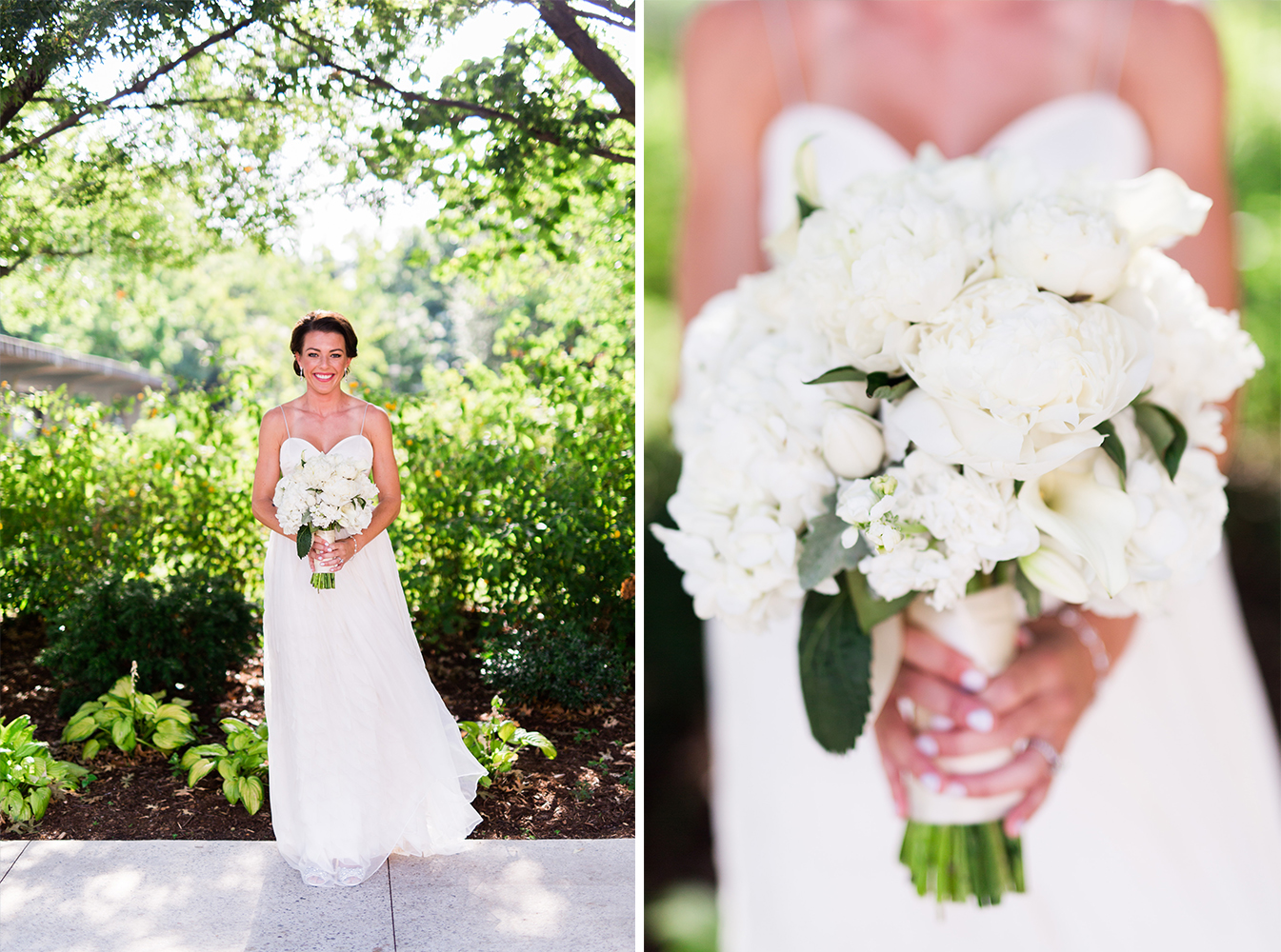 myriad botanical gardens wedding photographer okc oklahoma bouquet