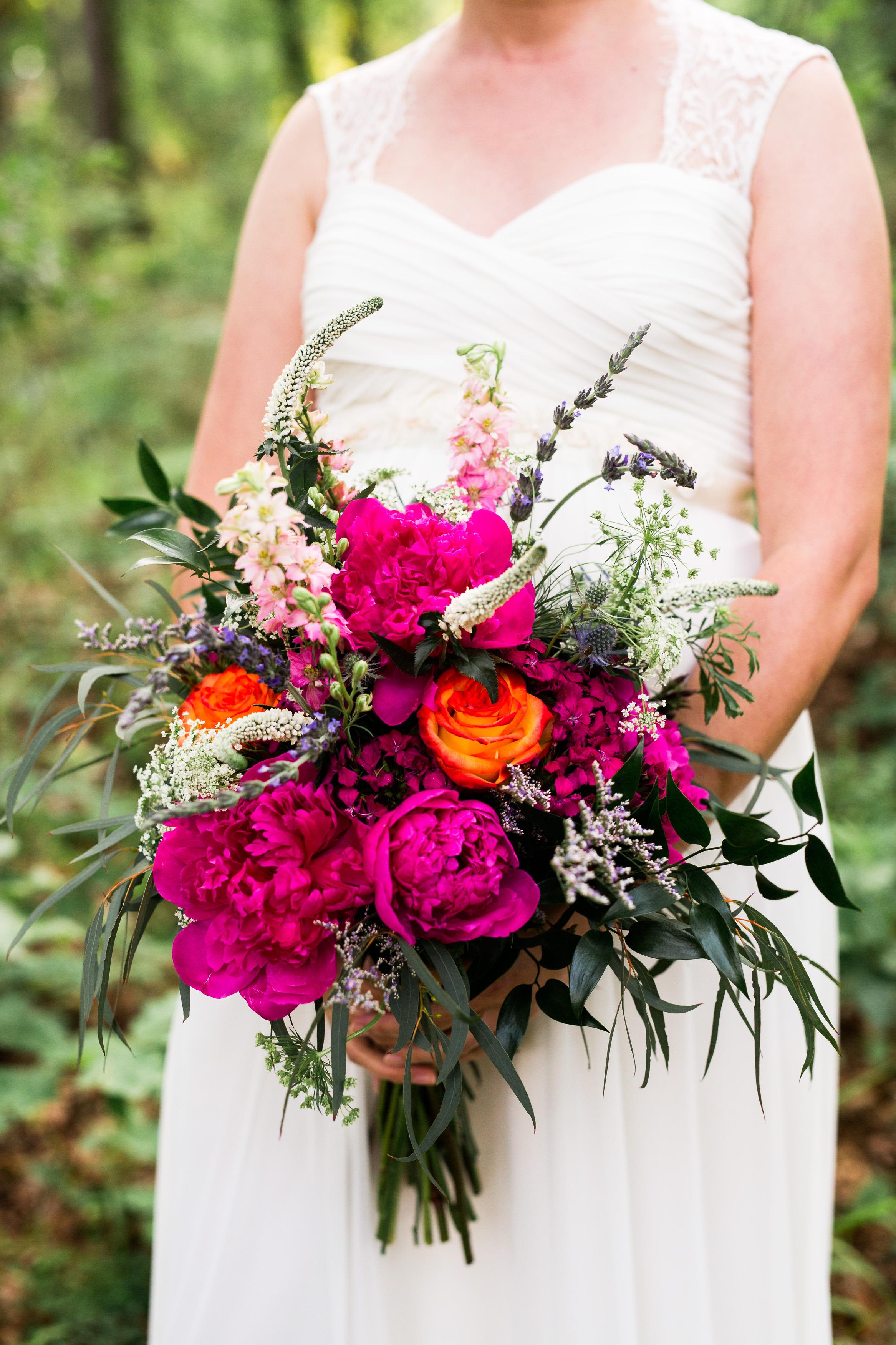 oklahoma wedding southeastern oklahoma saris colors diy nature norman wedding photography beavers bend mccurtain county decor big pink bouquet peonies roses