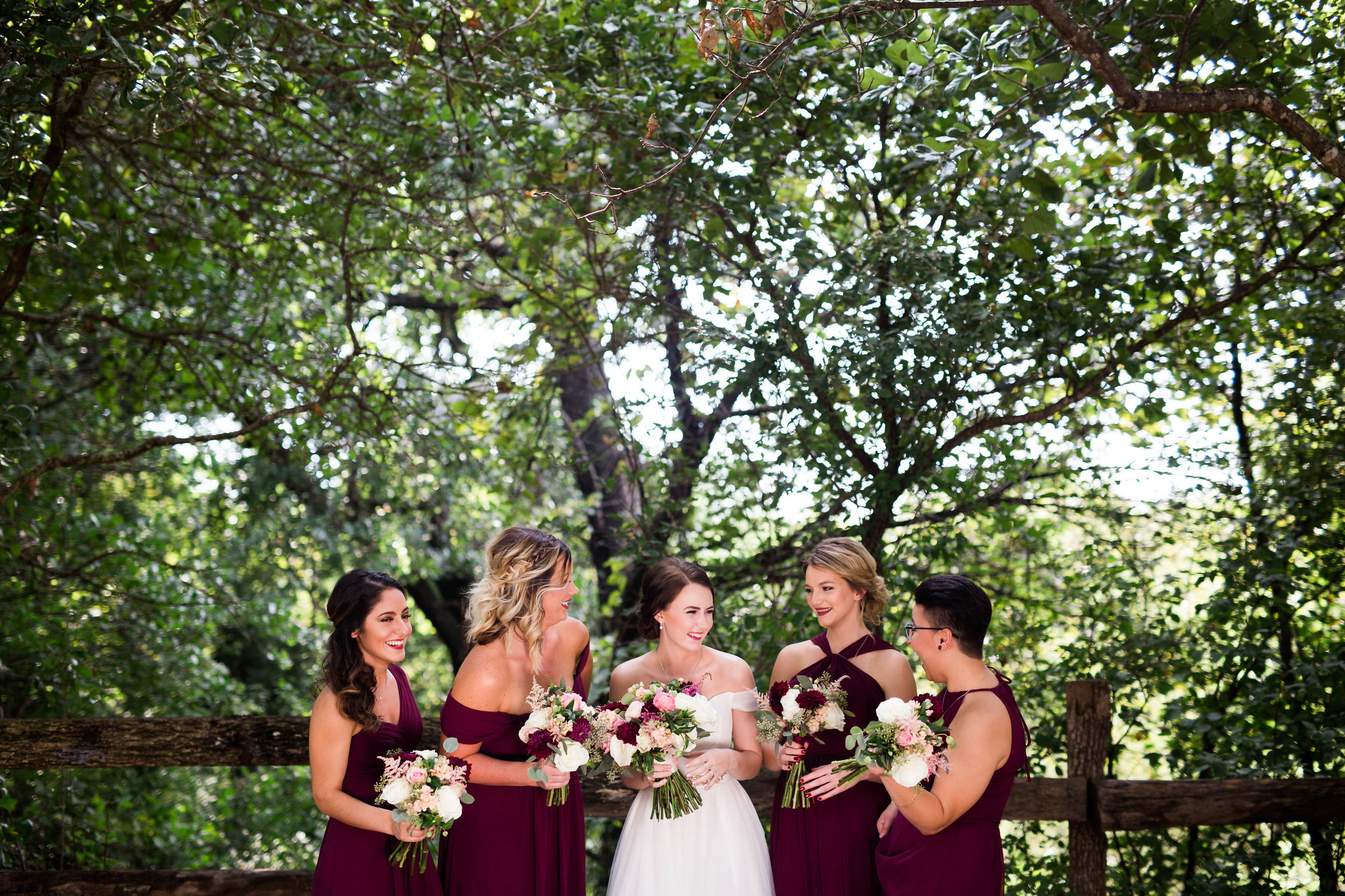 wedding photographer norman oklahoma modern southwind hills enchanted forest