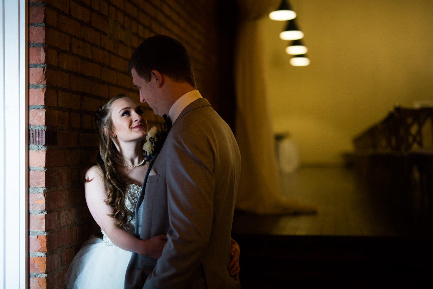 okc wedding photographer norman oklahoma the grand canadian theater first look