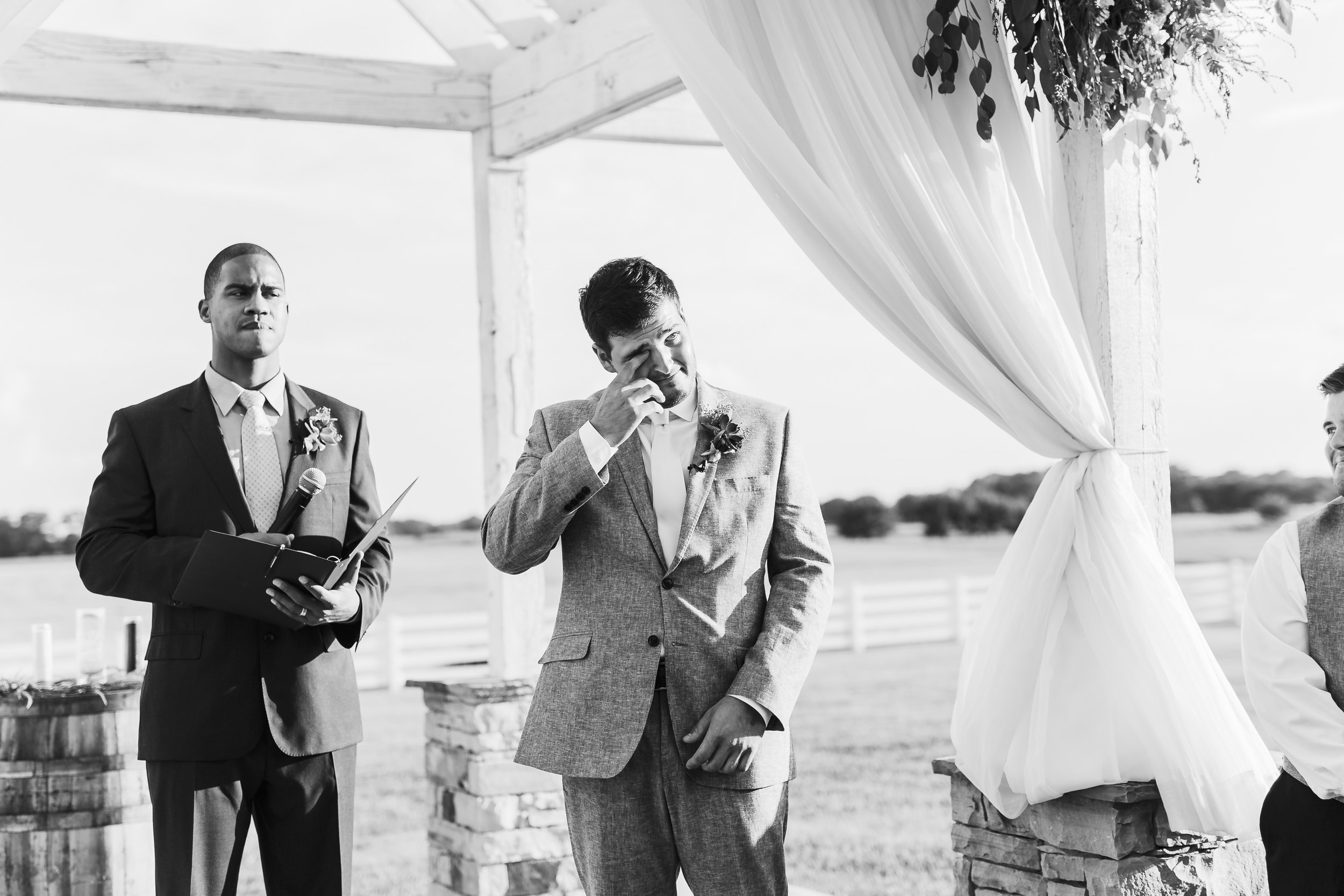 okc wedding photographer, oklahoma city, oklahoma weddings, norman, lgbt friendly, crying groom, the manor wedding, edmond wedding