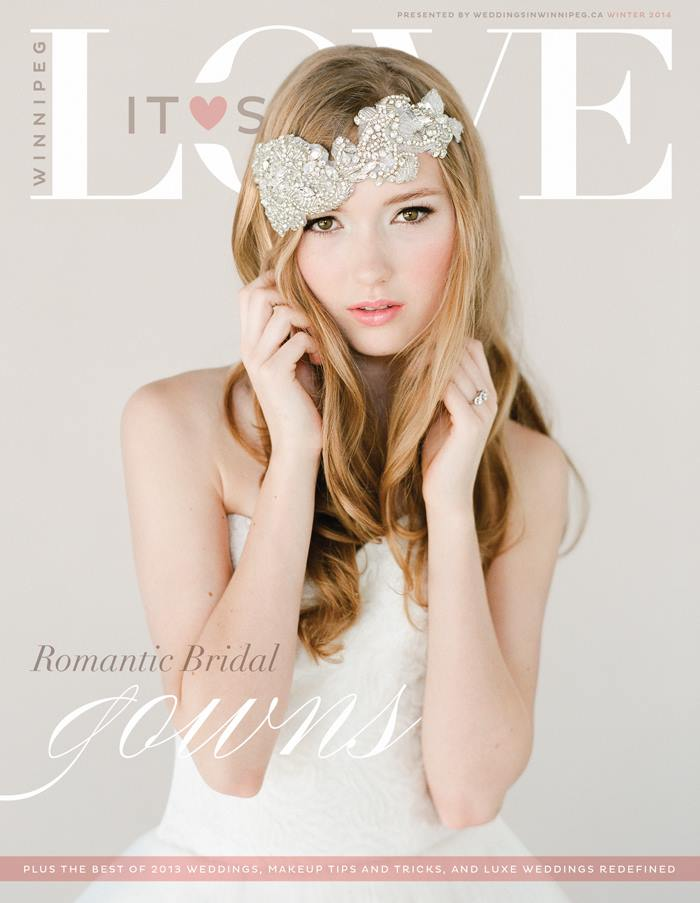 ITS LOVE - JANUARY WINTER COVER SHOOT     Photography by: Brittany Mahood     headpiece by  LACIELLE ROSELLE  // cake:  LAUGH LOVE CAKES  // MUA:  MAKEUP EXPRESSIONS BY RIMPAL  // styling by: ASHLEY NICOLE  // dress:  BLISS BRIDAL BOUTIQUE  // ring:  MOKADA JEWELRY  // hair:  BOB AND PAGE SALON  // film processed and scanned by  RICHARD PHOTO LAB  in Hollywood