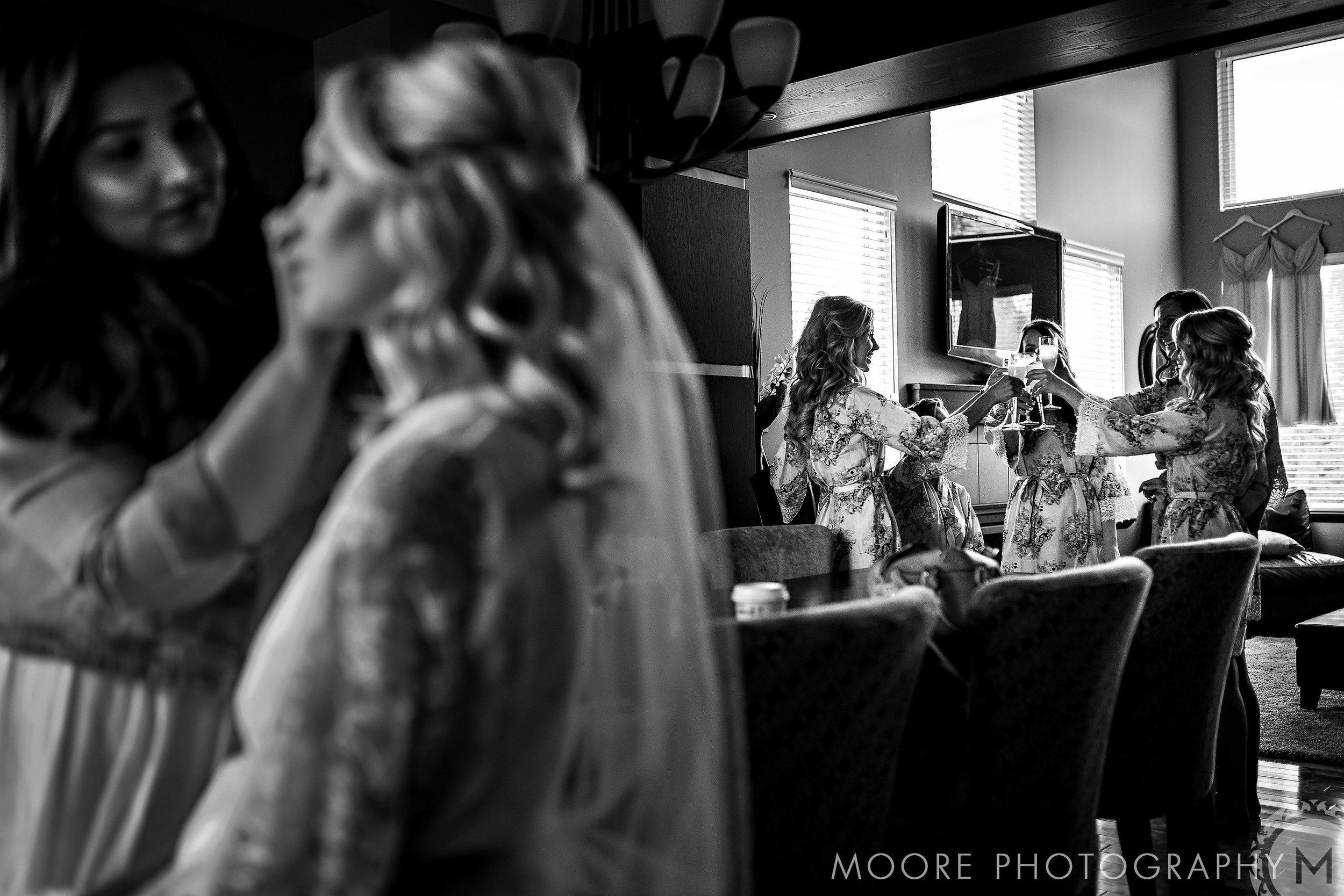 Toronto Makeup Artist, Toronto Wedding makeup artist, Markham Makeup Artist, Makeup Expressions by Rimpal - Christine getting ready..jpg