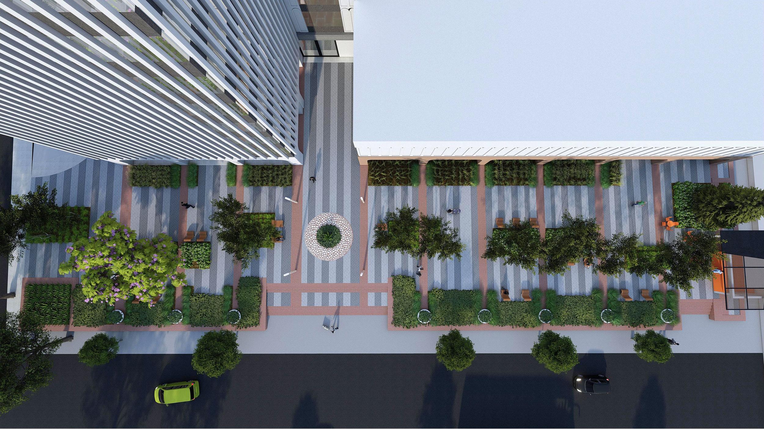 3D Rendering - Aerial View