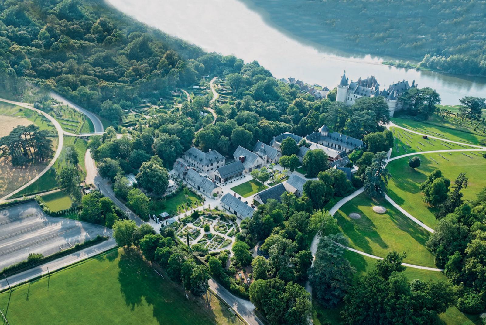 The festival site: Chaumont sur Loire, Loire Valley, France