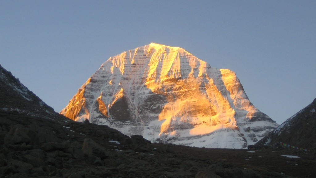 Sunlight on Mt. Kailash