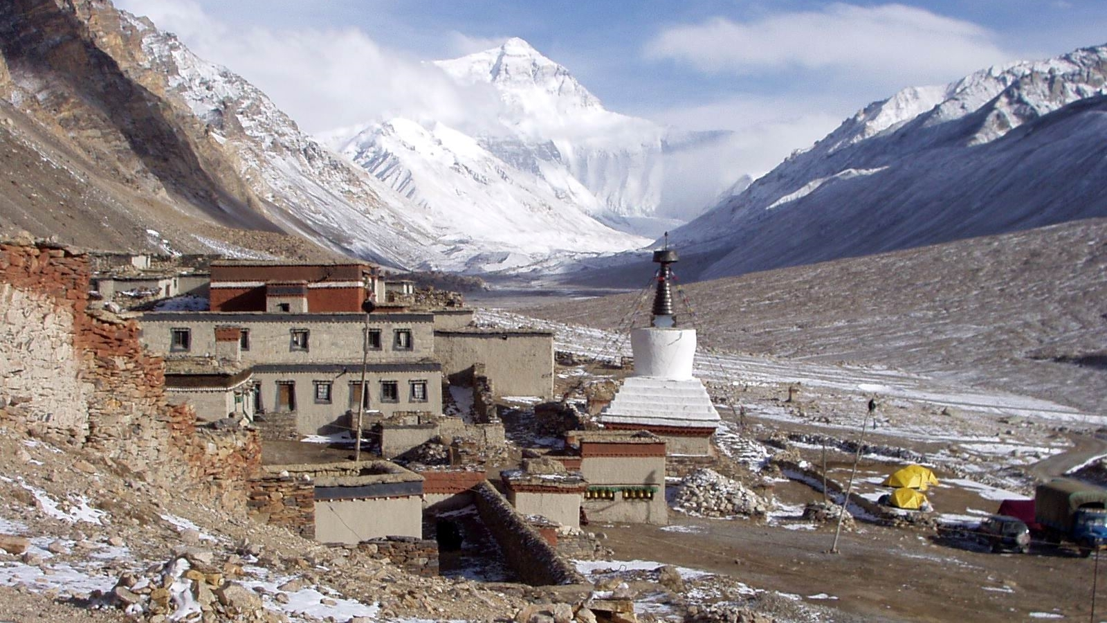 Rongbuk Monastery at Mt. Everest