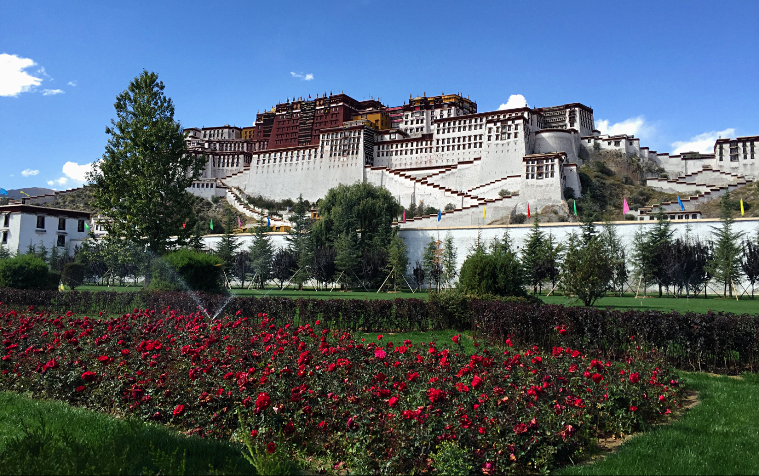 Potala Palace in Summer