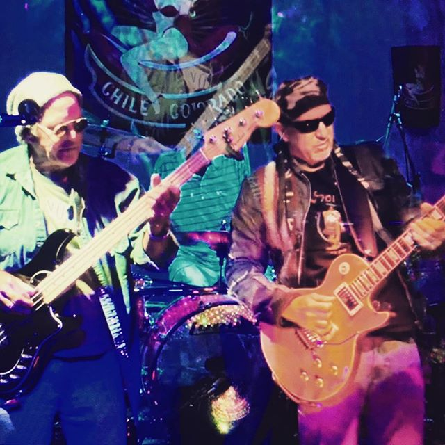 Gettin' After It! #rocksteady #rock #lespaul #fender #music #stage ChileColorado.com