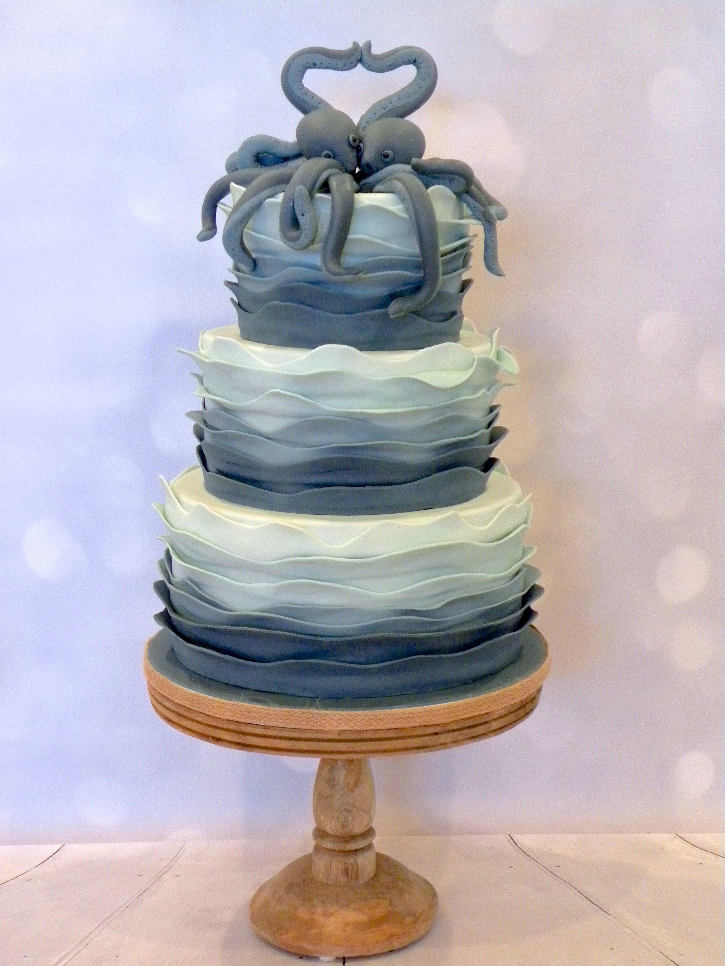 Octopus Wedding Cake
