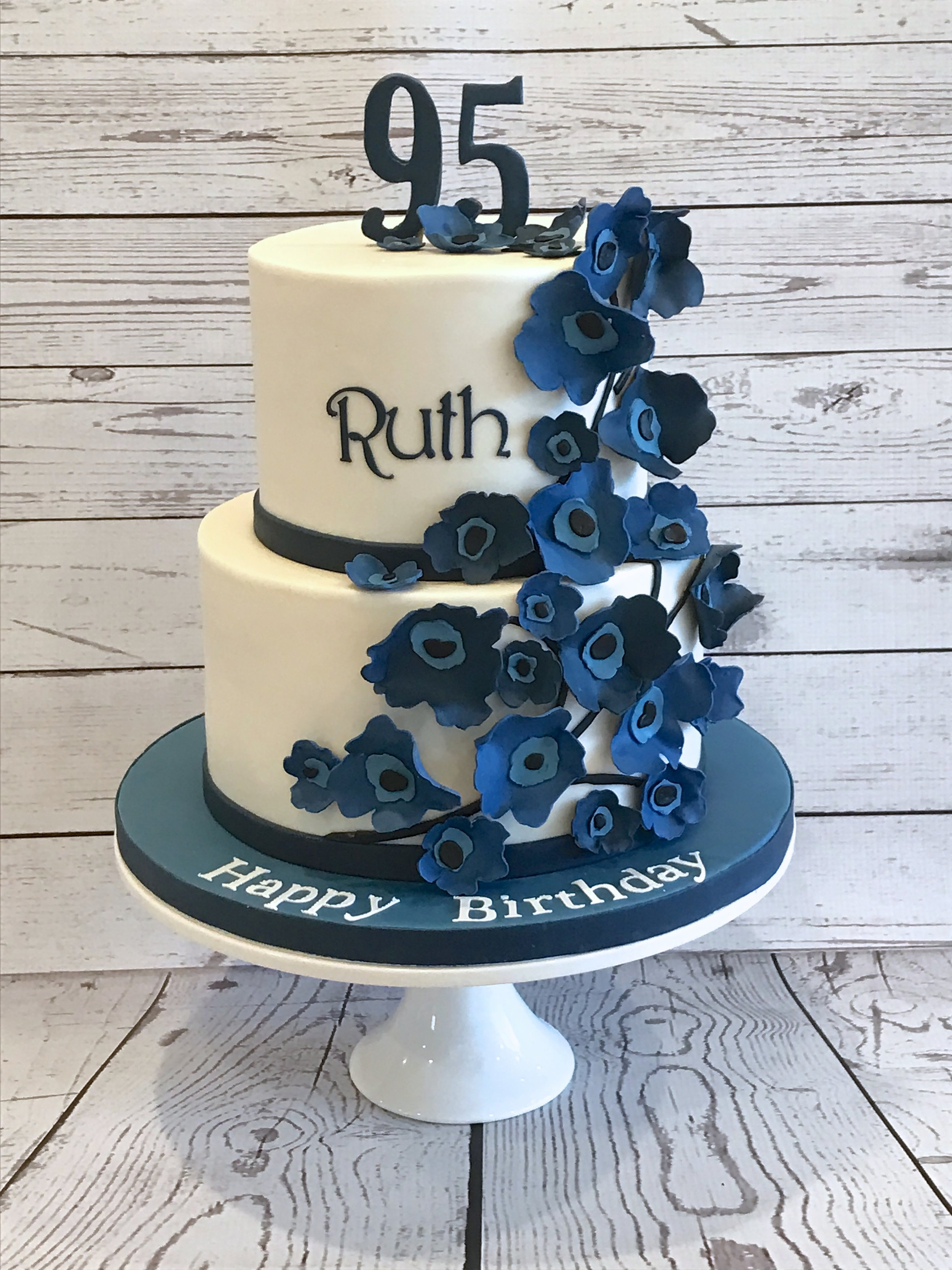 Marimekko Poppy 95th Birthday Cake