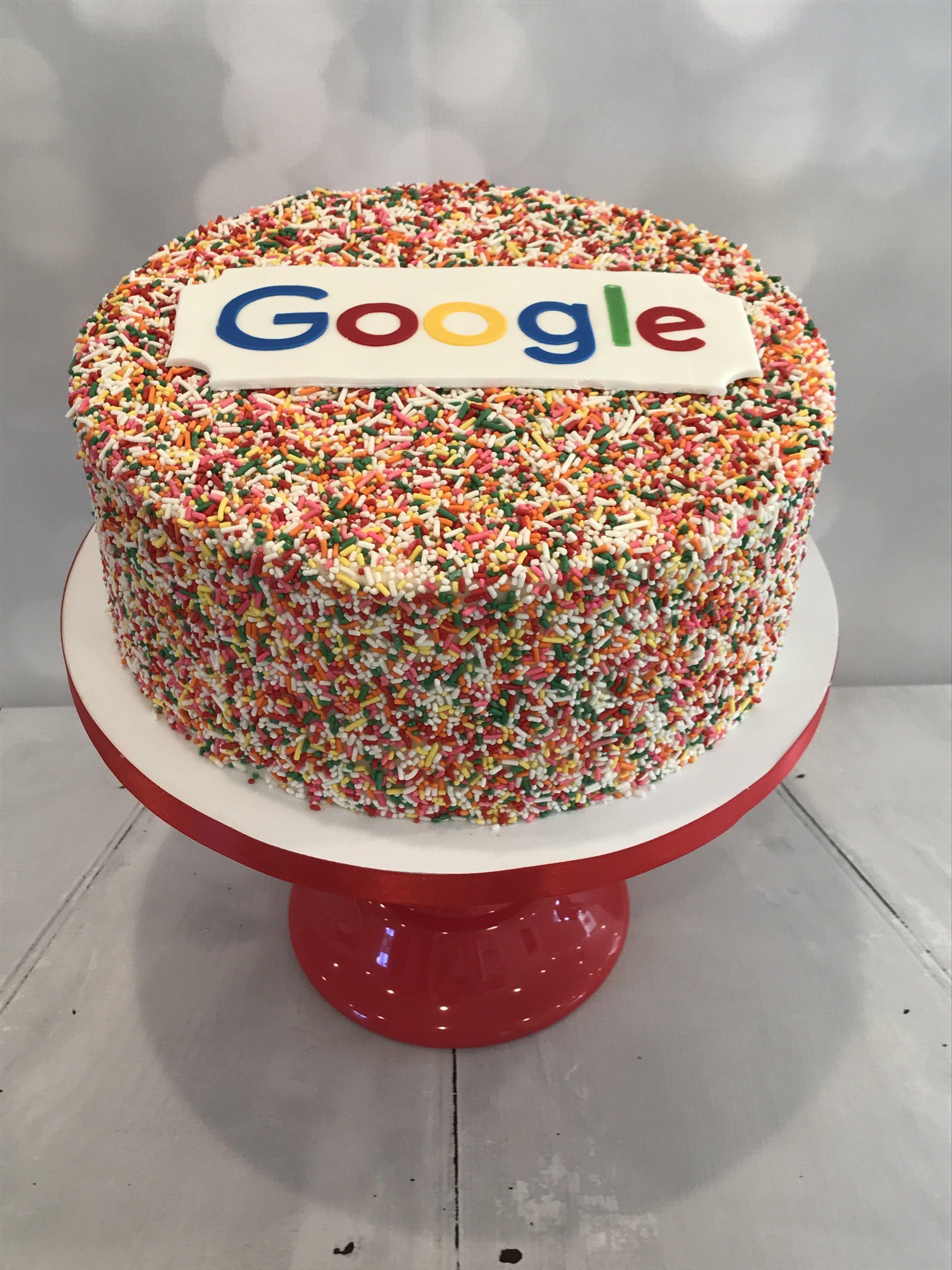 Google Funfetti Cake