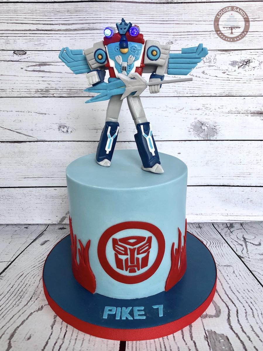 Optimus Prime - Transformers Cake