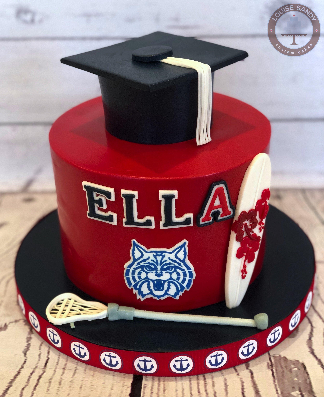 University of Arizona Graduation Cake