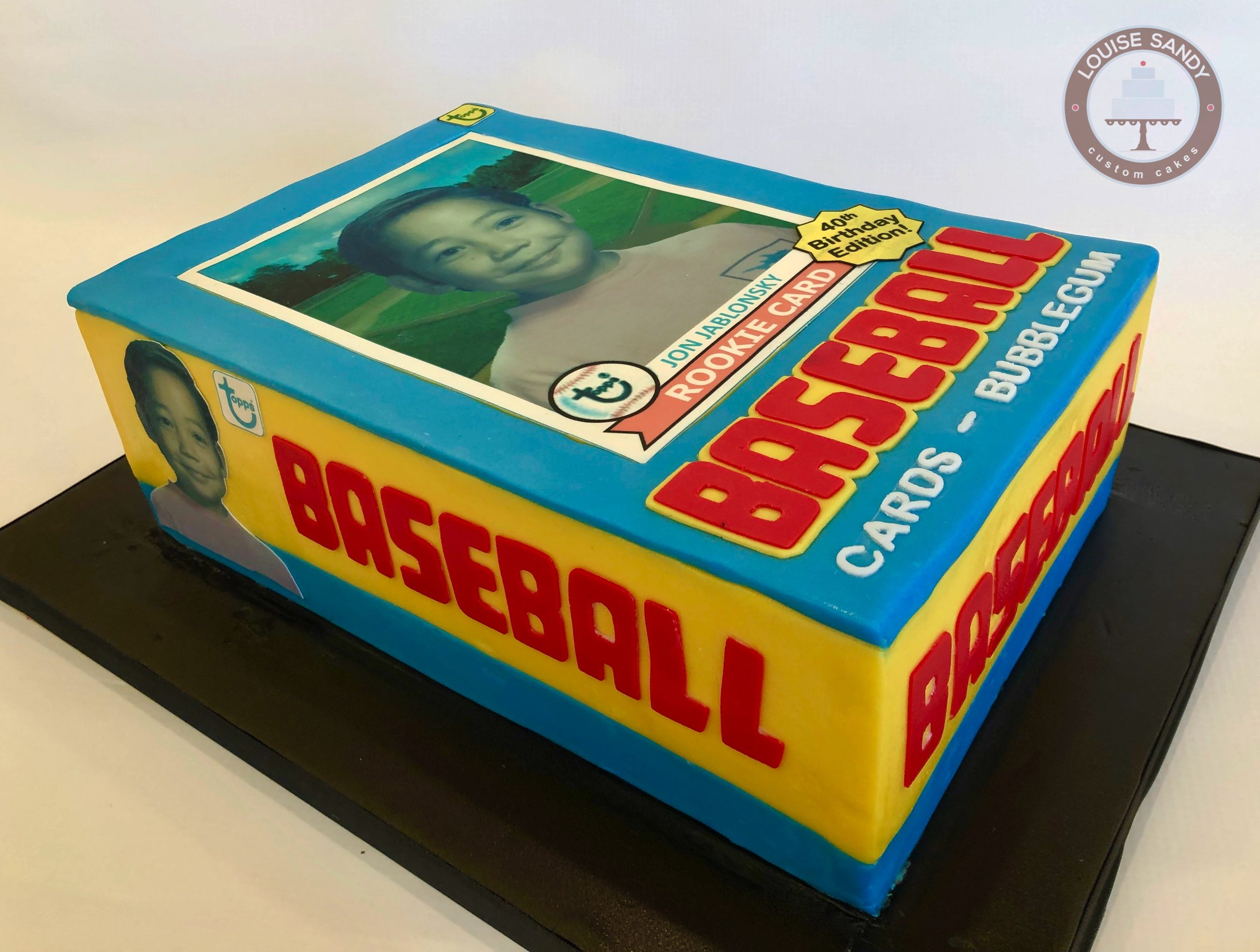 1979 Tops Baseball Card Cake
