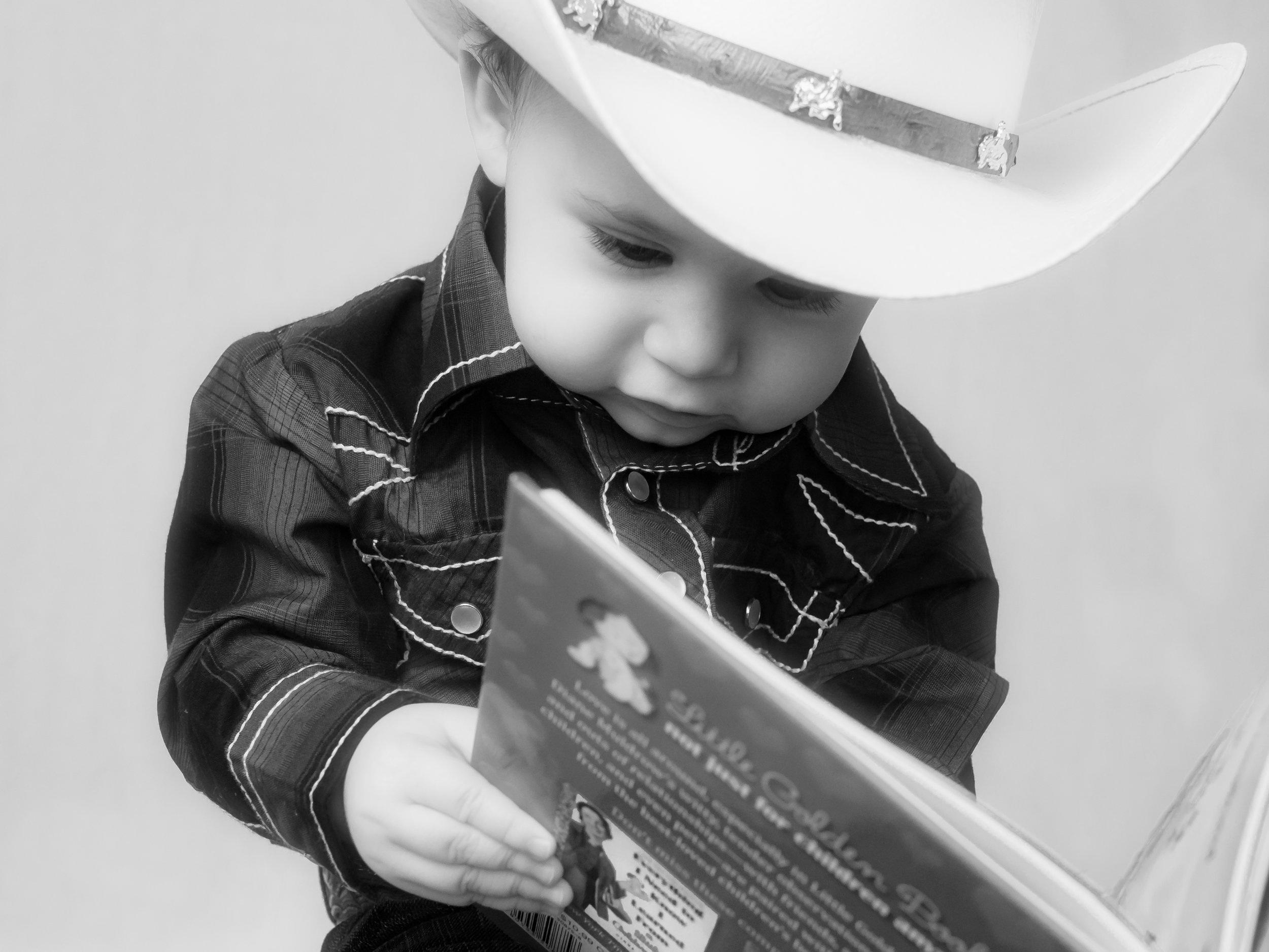 Little Jackson loves a good story! Who doesn't?