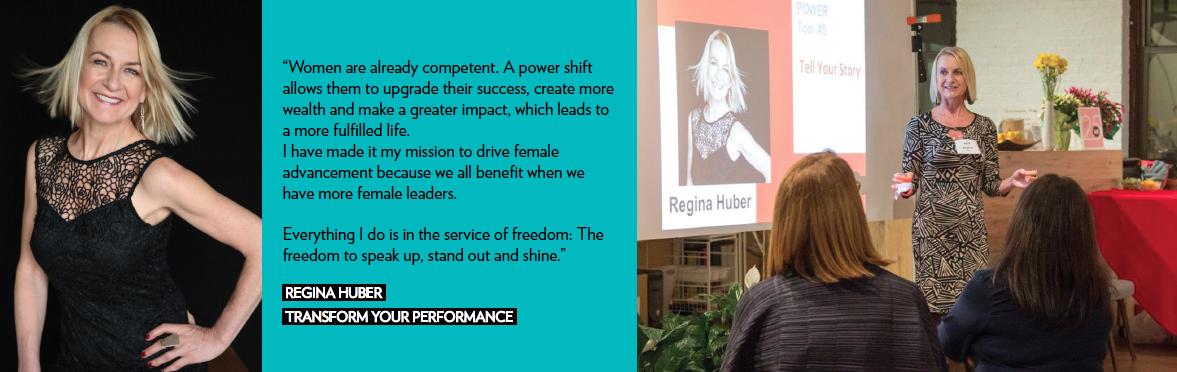 business regina huber transform your performance girlboss community finance funding